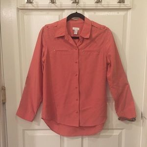 Chico's Utility Blouse